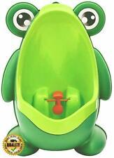 Frog Shape Children Kids Potty Training Urinal for Boys Removable Toilet, Green 00006000