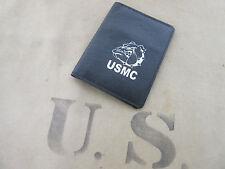 US Army Marines USMC Marine Corps Bulldogge Bulldog Leather Wallet Card Map #2