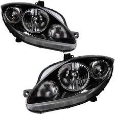 Seat Leon Mk2 2005-2007 Headlights Headlamps 1 Pair O/S And N/S