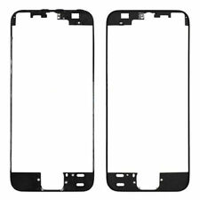 Lot of 5 Apple iPhone 5S Front Middle Frame Bezel LCD Holder With Adhesive Black
