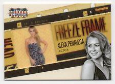 2015 Panini Americana FREEZE FRAME Trading Card Insert #09 / ALEXA PENAVEGA
