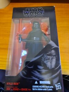 "Star Wars The Black Series  #03 KYLO REN 6"" New & Sealed DH"