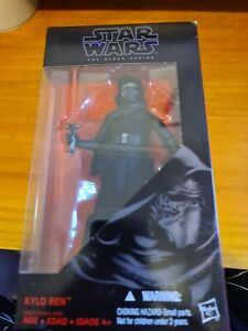 "Star Wars The Black Series  #03 KYLO REN 6"" New & Sealed DH"