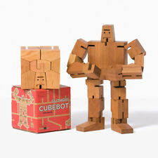 Areaware : Guthrie Cubebot Robot Toy - Natural