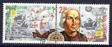 Bateaux Bulgarie (9) série complète de 2 timbres oblitérés