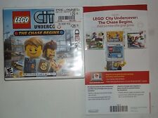 LEGO City Undercover: The Chase Begins (Nintendo 3DS, 2013) No Manual