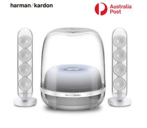 Harman Kardon SoundSticks 4 Wireless Bluetooth Speaker System Desktop Subwoofer