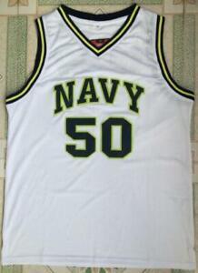 NAVY #50 David Robinson Jersey