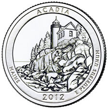 QUARTER DOLLAR DES ETATS-UNIS 2012 D - DENALI NATIONAL PARK AND PRESERVE