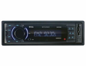 Boss Single-DIN In-Dash MP3-Compatible Digital Media Receiver with Front USB/AU
