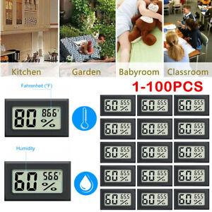 5/10/100x Humidity Meter Mini Digital Indoor Thermometer Hygrometer Temperature