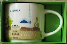 Starbucks You Are Here YAH City Mug Wien Vienna 14 oz neu mit SKU-Stick, OVP