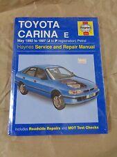 Manuale - HAYNES Manual 3256 : Toyota Carina E