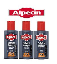 Alpecin Caffeine Hair Shampoo 250ml - 3 Pack -  Value Pack