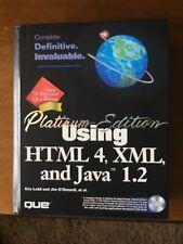 Platinum Edition Using HTML 4, XML, and Java 1.2