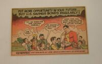 1949 US Savings Bonds cartoon ad ~ CAPTAIN MARVEL