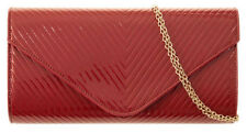 Clasp Inner Pockets Handbags Quilted Clutch Bags