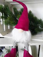Nordischer Weihnachtswichtel Gnom Figur Filzwichtel Kantenhocker Wichtel Troll