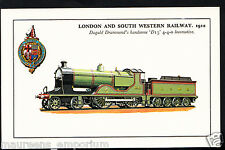 Railway Transport Postcard- London and South Western Railway,1912 - RS755