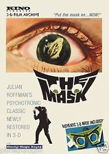 THE MASK (1961) DVD - 3D - PAUL STEVENS - KINO LORBER - AUTHENTIC US RELEASE