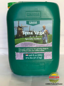 CANNA - Terra Vega 20L - Specialty Fertilizer (Big Bottle 20 Liters)