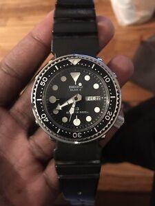 Vintage &rare Seiko Diver Professional 300m 7549-7010 Tuna can analog day date