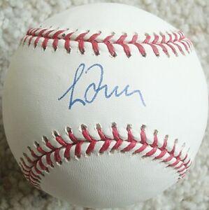 GREG MADDUX Signed OML Baseball ATLANTA BRAVES Chicago Cubs