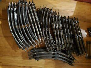 Lionel O gauge track lot (60 pieces)