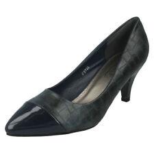 Calzado de mujer zapatos de salón de color principal azul de charol