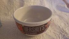 "Hershey's Hersheys Syrup Collectors Cereal Salad Bowl Ceramic 5"" Diameter 3"" T."