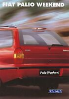 Fiat Palio Weekend Prospekt 1997 12/97 Broschüre brochure Autoprospekt brosjyre