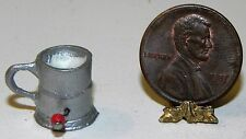Dollhouse Miniature Flour Sifter Metal Kitchen Utensil Island Crafts 1:12 Scale
