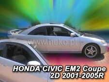 Wind deflectors HONDA Civic 2D  2001 - 2005  EM2  COUPE  2.pc HEKO 17165