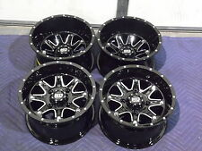 "12"" HONDA RANCHER 420 (SRA) ALUMINUM ATV WHEELS NEW SET 4 - LIFETIME WARRANTY T4"