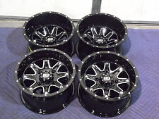"12"" SUZUKI KING QUAD 400 (SRA) ALUMINUM ATV WHEELS NEW SET 4 - LIFE WARRANTY T4"