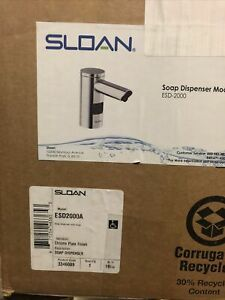 Sloan Battery-Powered, Touchless Sensor Operated Deck Mounted Soap Dispenser