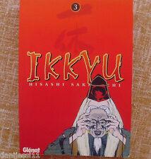 Comic, Ikkyu, Ediciones Glénat, año 1998, autor Hisashi Sakaguchi, Tomo 3, Usado
