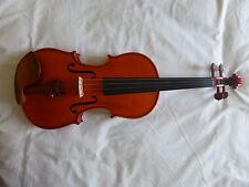 Nouveau fait main violon, lovely flammée maple, avec nœud supérieur et de cas, de uk!