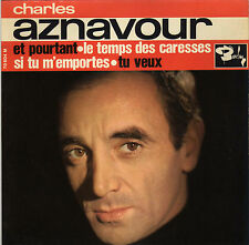 CHARLES AZNAVOUR ET POURTANT FRENCH ORIG EP PAUL MAURIAT