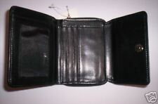 VERY NICE!!!   Women's Black Soft Faux Leather Wallet