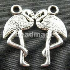 free ship 70pcs tibet silver crane Charms 24x14mm