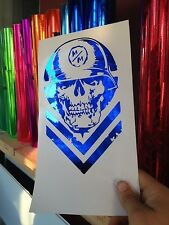 Metal Mulisha Decal 8.5X5 Honda Chev Ford Dodge 4x4 Toyota Ktm