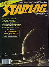 Starlog Magazine #13 May 1978 Star Wars Trek Logan's Run Close Encounters VG/FN
