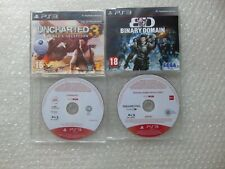 PS3 Promo Games Promotional,Syndicate,Uncharted 3,Binary Domain,Dues EX Human