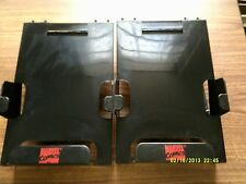 Older Marvel Comic Book Display Rack Hanger, Black set of 2!!! Very Rare! 1980's