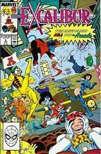 EXCALIBUR # 5  - COMIC - 1989 - 9.4