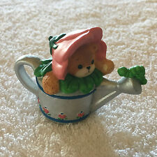 Lucy & Me Bear As Watering Can Figurine Lucy Rigg 1994