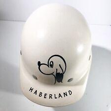 Vintage Hard Hat With Liner Fiberglass Duck Bill White Fibre Metal SuperGlas