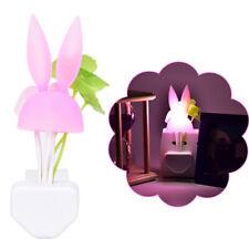 1PC Romantic LED Night Light Sensor Plug-in Wall Lamp Home Illumination CJ