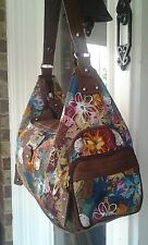 ladies handbags/ Lightweight Colorful Polyester Hobo by ROSETTI / NWOT/